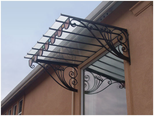 Polycarbonate Porch Roof